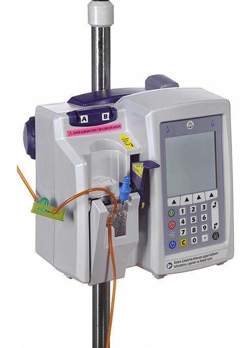 ICU Medical Çift Yollu İnfüzyon Setleri ve Pompaları